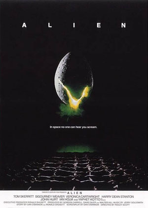 alien, best horror films, 1960s, 1970s, ridley scott,