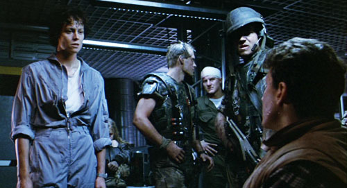 aliens, james cameron, operations ambush, escape through ventilation shaft, ripley,