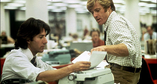 all the president's men, best films about journalism,