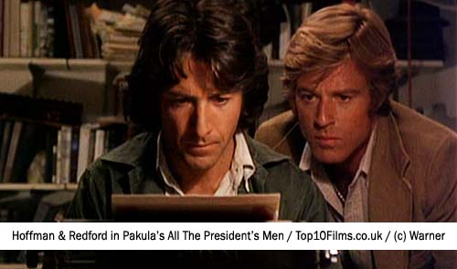 all the presidents men dustin hoffman robert redford