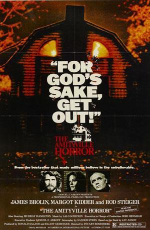 best 70s horror, amityville horror