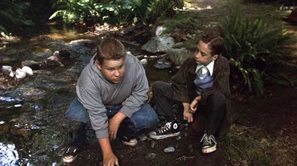 Ben (Brandon Crane), considering his dam, in Tommy Lee Wallace's 1990 TV movie version of Stephen King's novel.