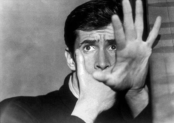 Anthony Perkins, Alfred Hitchcock, Psycho - Top 10 Films