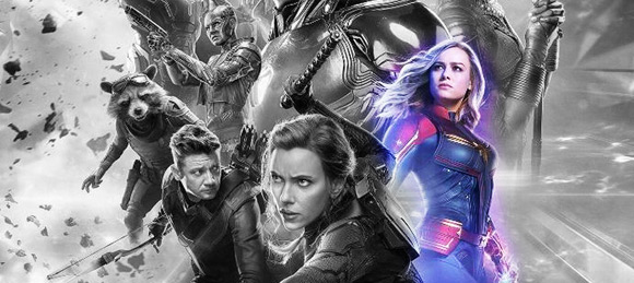 Avengers Endgame - Captain Marvel is in?