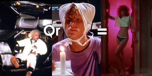 weird science, back to the future,