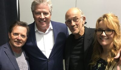 Back To The Future cast reunited