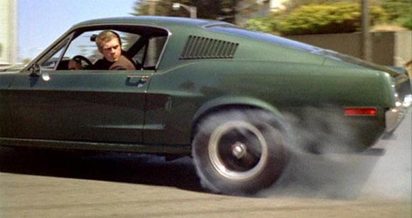 Bullitt, Best Car Chases in Film, Top 10 Films,