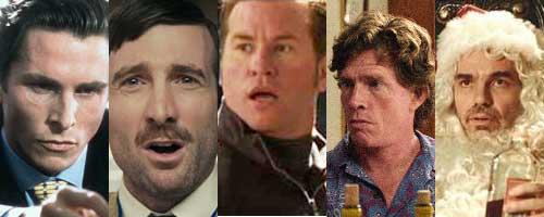 best characters 2000s, patrick bateman, wikus, gay perry, jack, sideways, bad santa