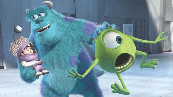 Best Pixar Films - Monsters Inc.