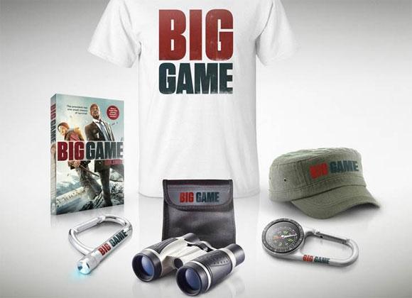 Big Game Samuel L. Jackson Film Merchandise