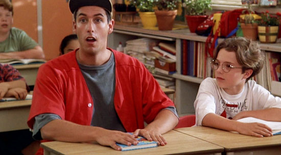 billy madison, adam sandler top 10,