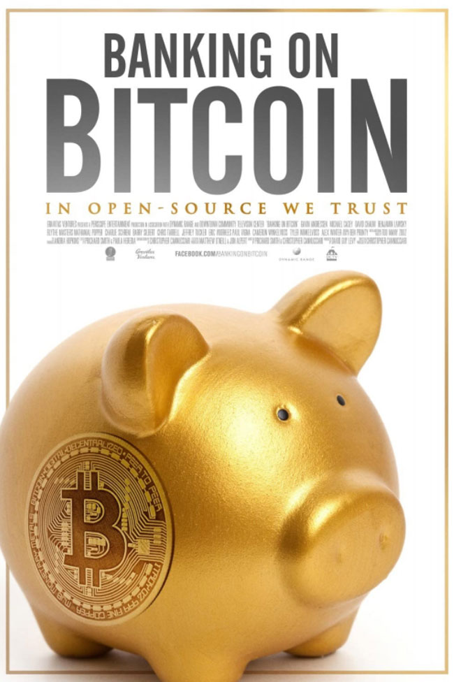 Banking on Bitcoin film poster