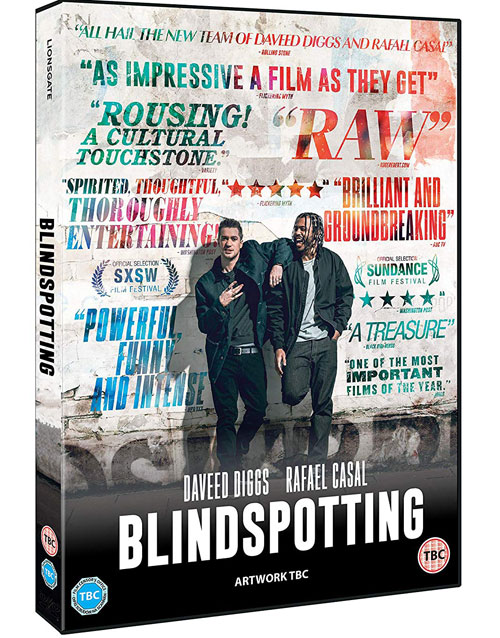 Blindspotting - UK DVD