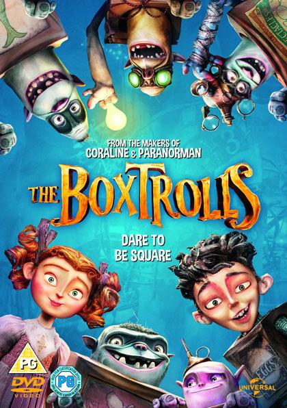 The Boxtrolls, DVD, UK
