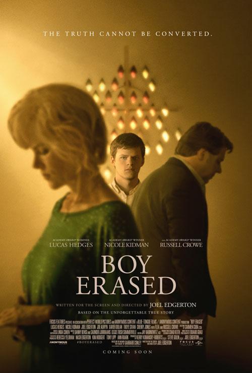 Boy Erased - UK poster