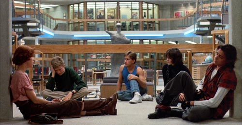 breakfast club, film, john hughes