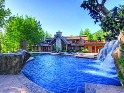 Bruce Willis' former Idaho holiday home