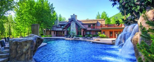 Bruce Willis' former Idaho holiday home
