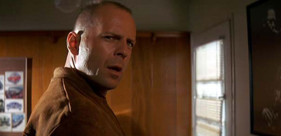 Bruce Willis in Quentin Tarantino's Pulp Fiction