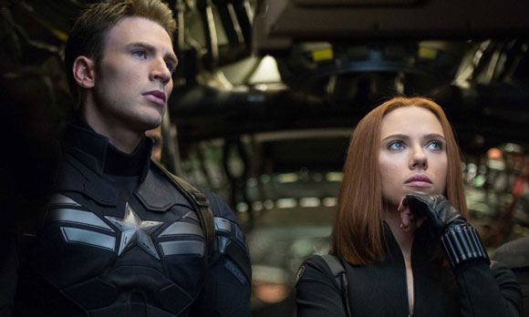 Captain America The Winter Soldier, Poster, Chris Evans, Scarlett Johansson, Samuel L. Jackson,