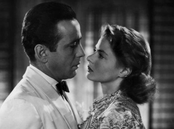 Casablanca - Humphrey Bogart, Ingrid Bergman