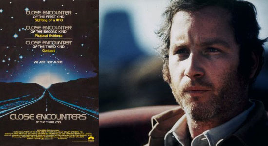 close encounters of the third kind, film, steven spielberg, top 10 richard dreyfuss movies,