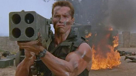 commando, best arnie film,