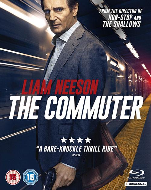 The Commuter - UK Blu-ray