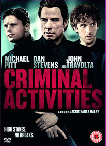 win quotcriminal activitiesquot starring john travolta on dvd