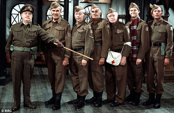 dad's army, film,