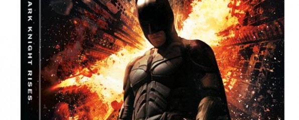 The Dark Knight Rises, Blu-ray Cover