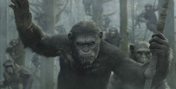 Dawn of the Planet of the Apes, Top 10 Films,