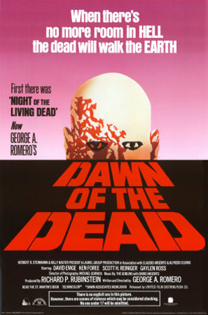 dawn of the dead, film, horror, romero,