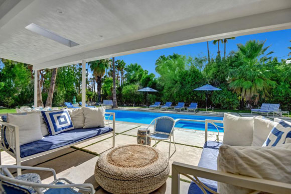 Dean Martin's former holiday home in Palm Springs