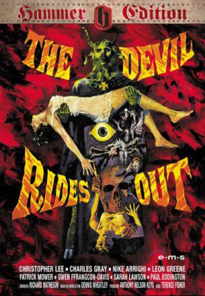 the devil rides out, hammer, horror, christopher lee,