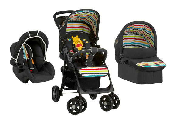This Brilliant Multi Functional Winnie The Pooh Stroller Buggy Car Seat Combo Brings Together Those Travel Essentials In A Neat Package