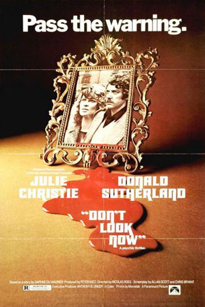 don't look now, horror film, best, 1960s, 1970s, top 10 films,