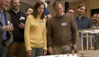 Downsizing, Matt Damon