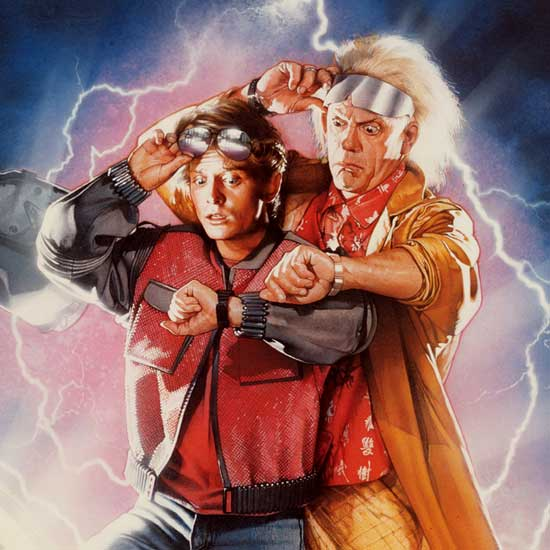 Back To The Future by Drew Struzan