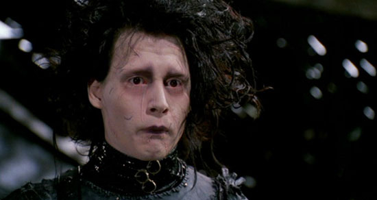 Edward Scissorhands, Film, Johnny Depp
