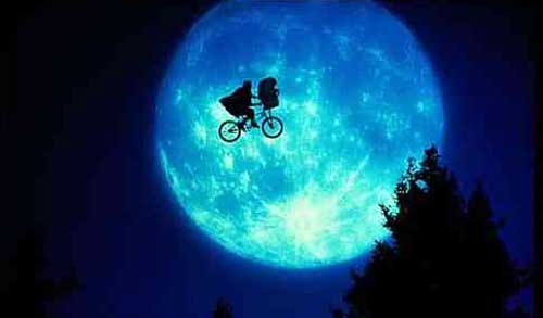 e.t., et, extra-terrestrial, alien, friendsly, spielberg, best family movie,