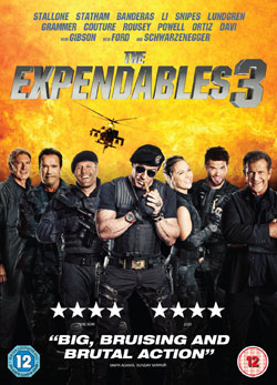 The Expendables, UK DVD cover,