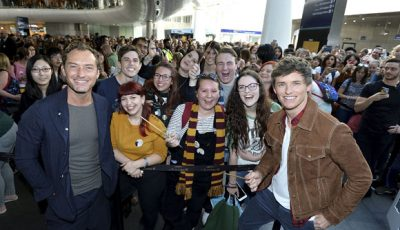 Eddie Redmayne On Hand To Surprise Fans In London As