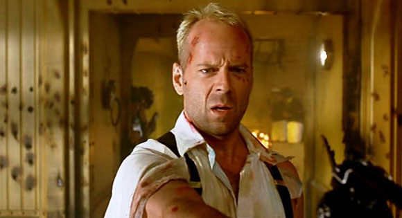 Bruce Willis in Luc Besson's The Fifth Element