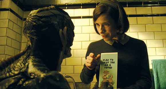 """""""The Shape Of Water"""": A Beautiful View Of Humanity Tinged In Sadness"""