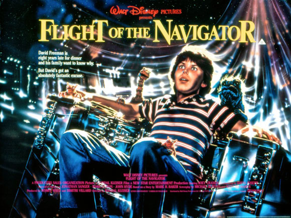 Flight of the Navigator, 1986