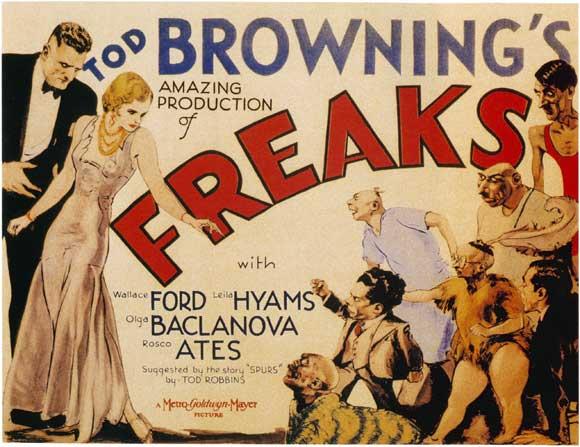 Freaks, Tod Browning, Film Poster, Top 10 Films,