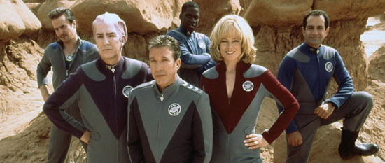 galaxy quest, film, comedy science fiction