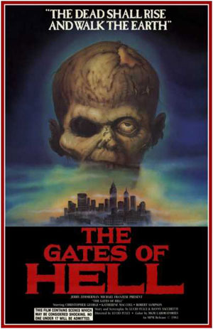 Gates of Hell, Film, Fulci, Poster