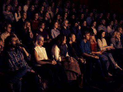 Generic stock cinema auditorium / audience